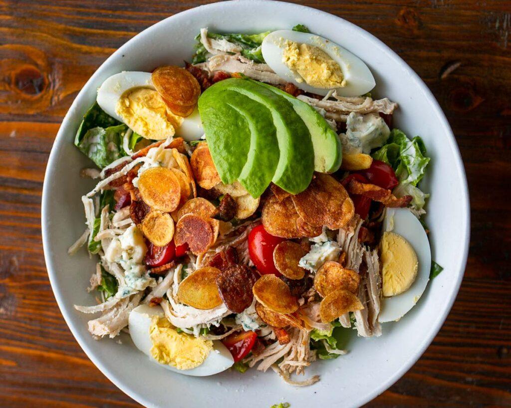 Cobb salad at Craft Kitchen meal in Las Vegas