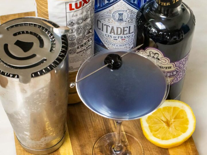 Crafted Aviation Cocktail