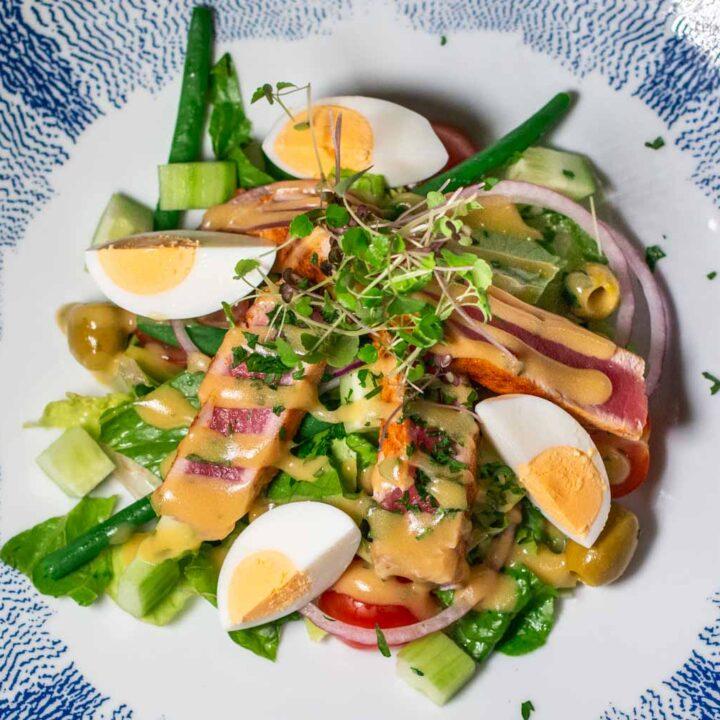Nicoise Salad on the MS Nieuw Statendam