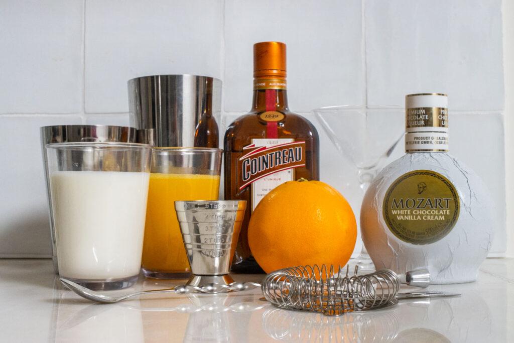 Orange Creamsicle Cocktail Ingredients