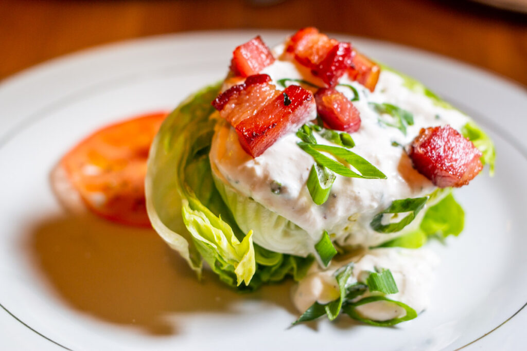 Wedge Salad at The Whitfield in Pittsburgh