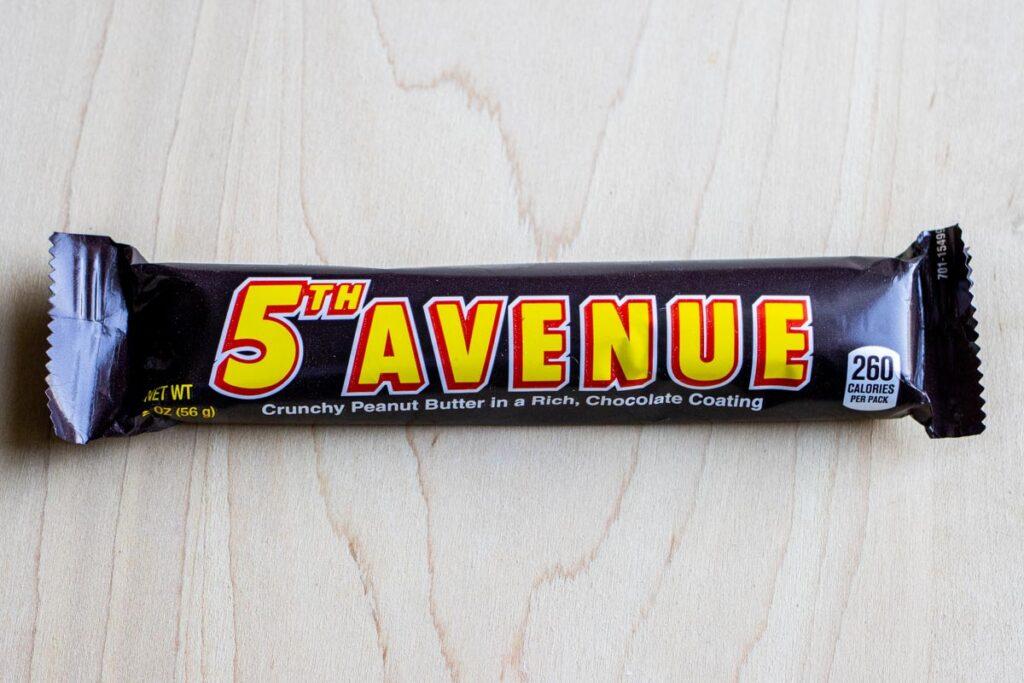 5th Avenue Candy Bar