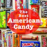 """Pinterest image: candy with caption reading """"The Best American Candy"""""""