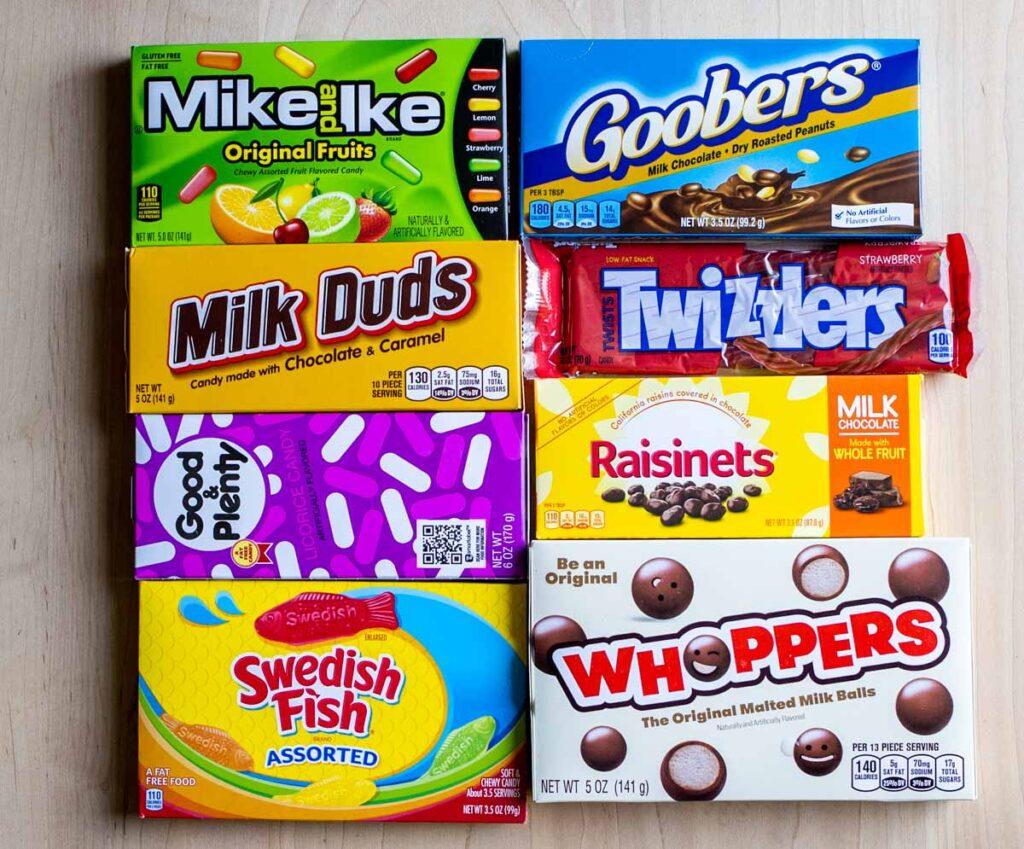 Best Movie Candy