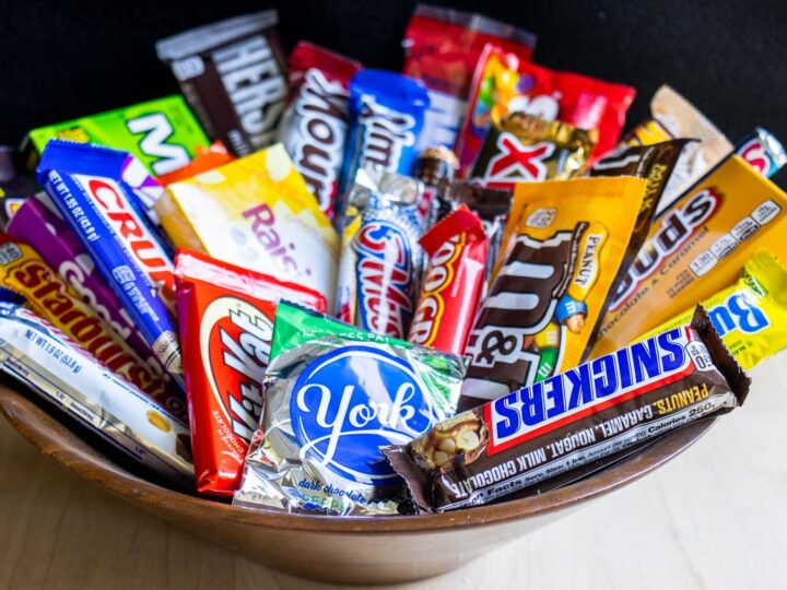 Bowl of American Candy