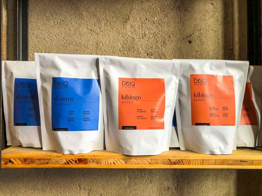 Coffee Bags at SimBIOsi Coffee in Florence