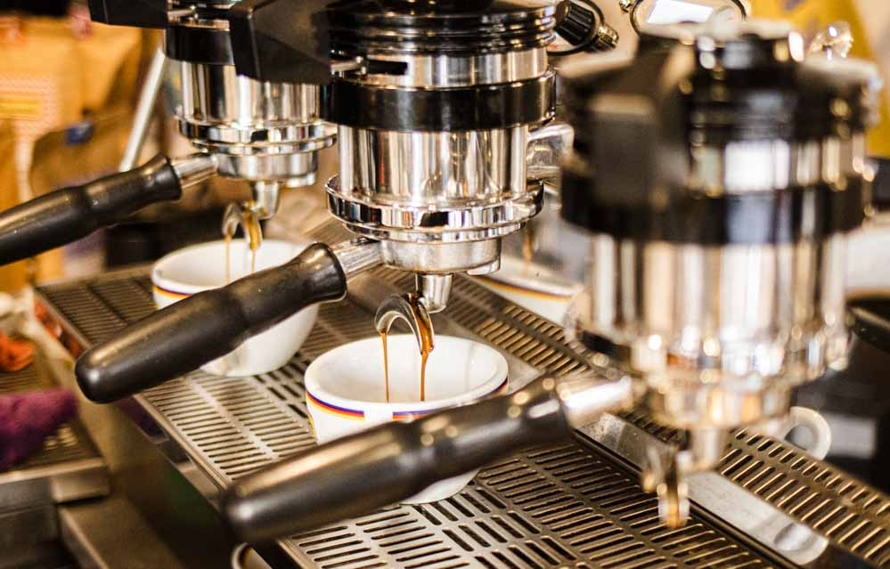 Coffee Brewing at Ditta Artigianale in Florence