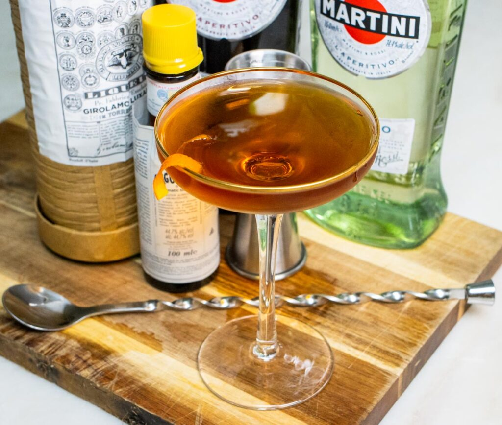 Crafted Diplomat Cocktail