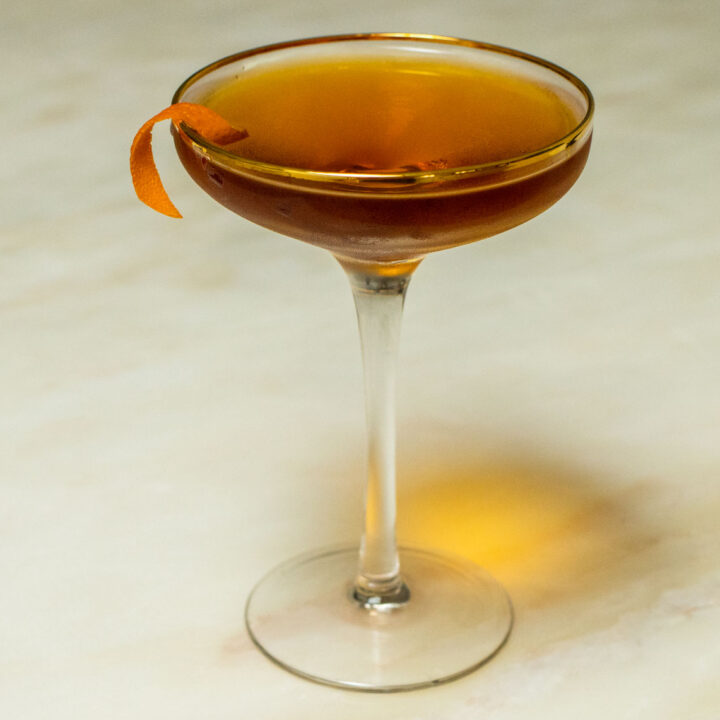 Diplomat Cocktail in Coupe
