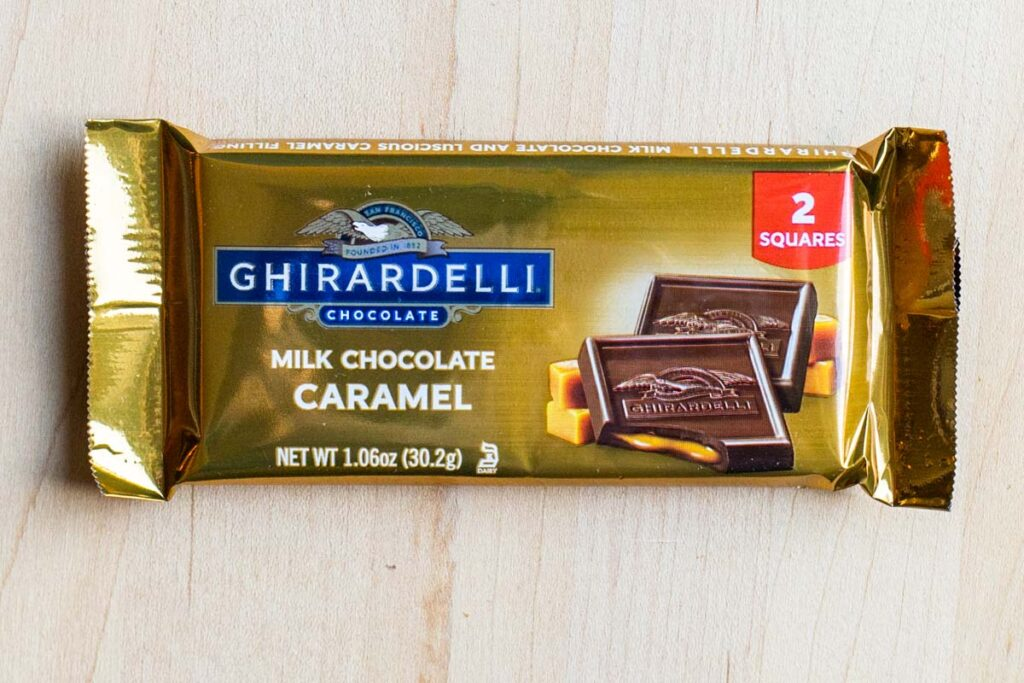 Ghirardelli chocolate bar