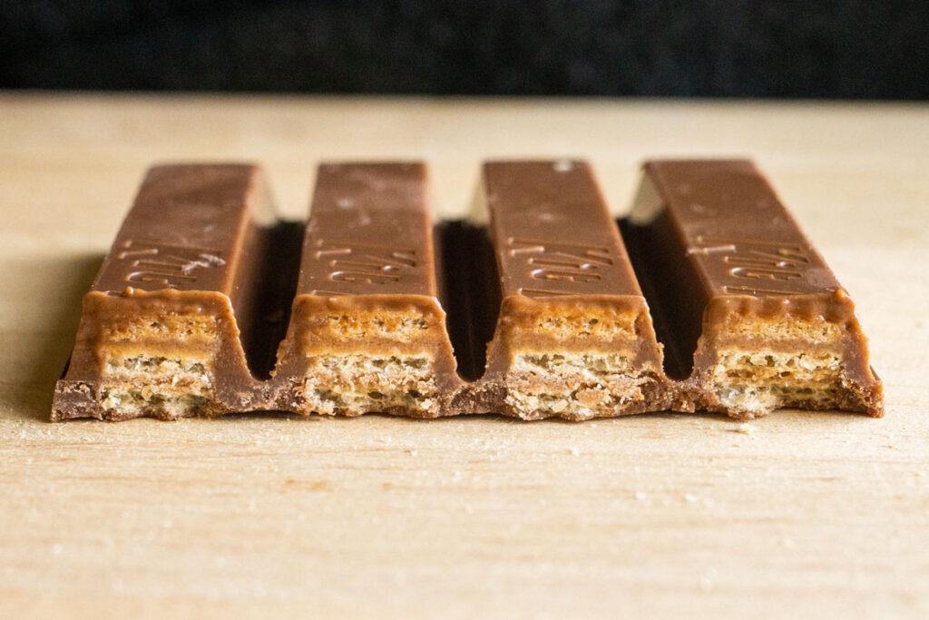 Kit Kat Bar - Cross Section