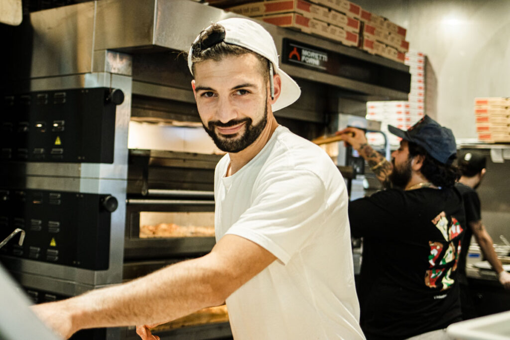 Massimo Laveglia at L Industrie Pizzeria in Brooklyn New York.jpg