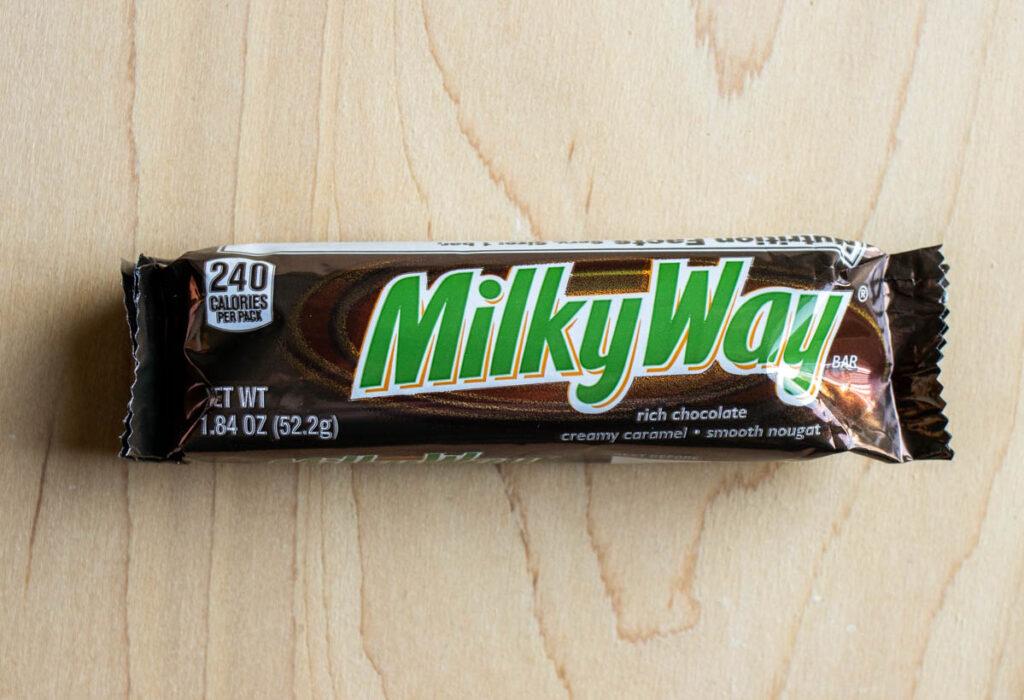 Milky Way Candy Bar