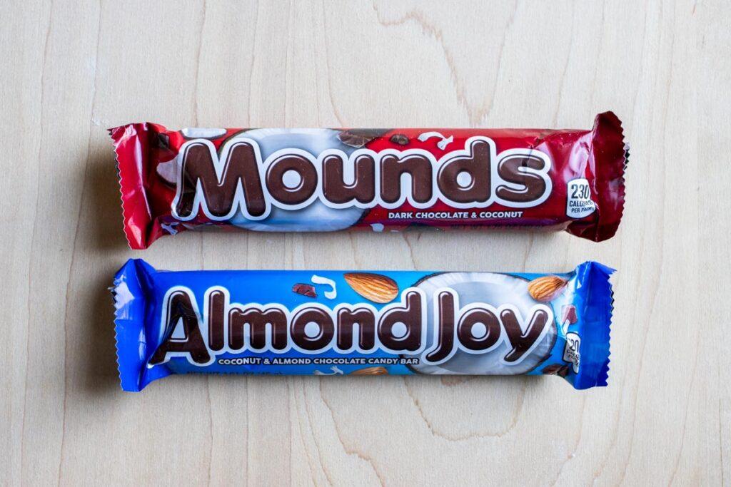 Mound's and Almond Joy Bars