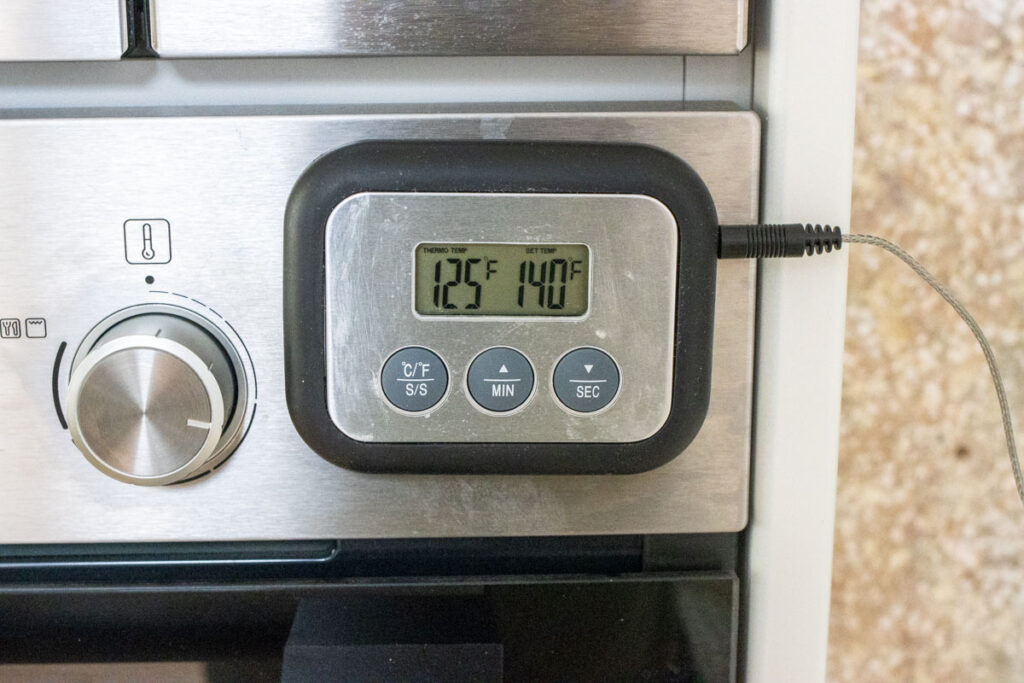 Probe Thermometer Reaches Low Temp
