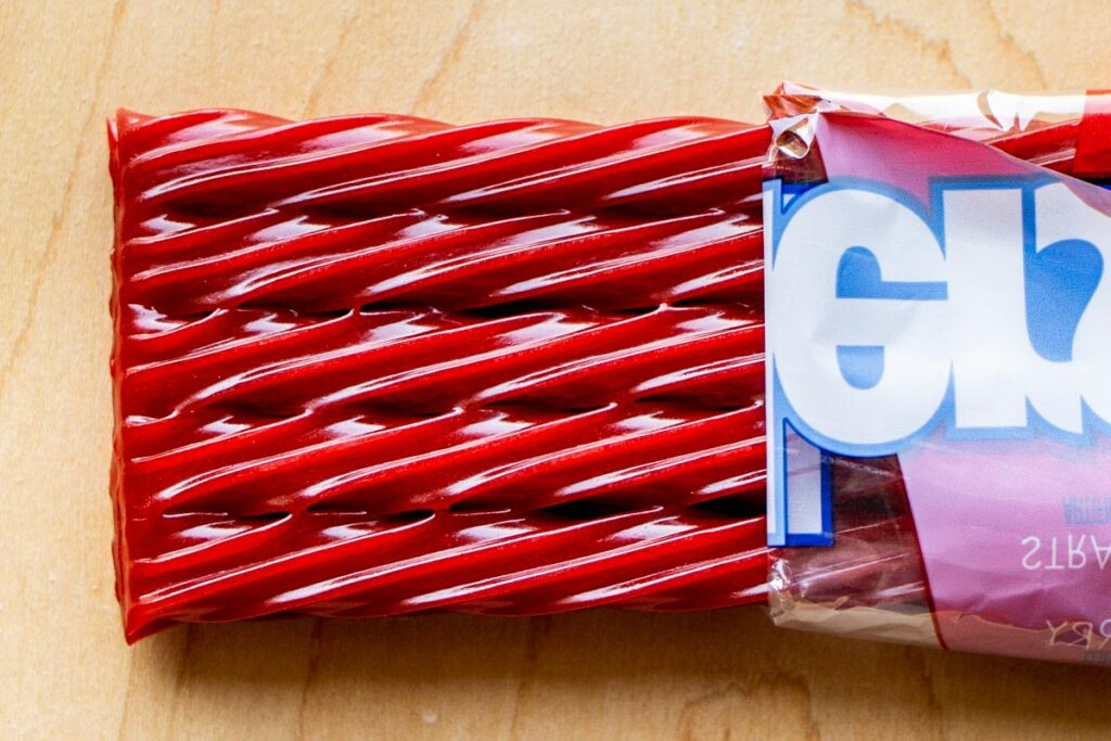 Twizzlers Candy opened