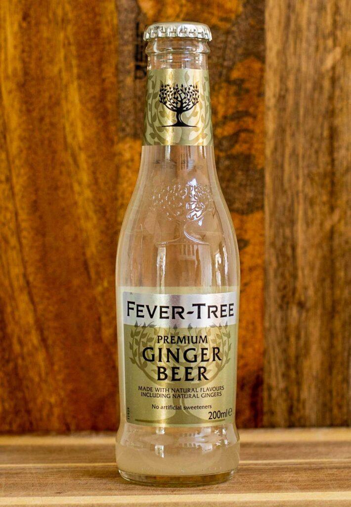 Bottle of Fever Tree Ginger Beer