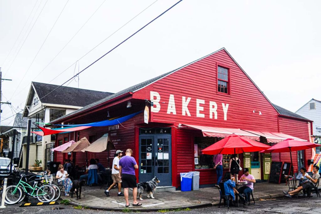 Bywater Bakery in New Orleans