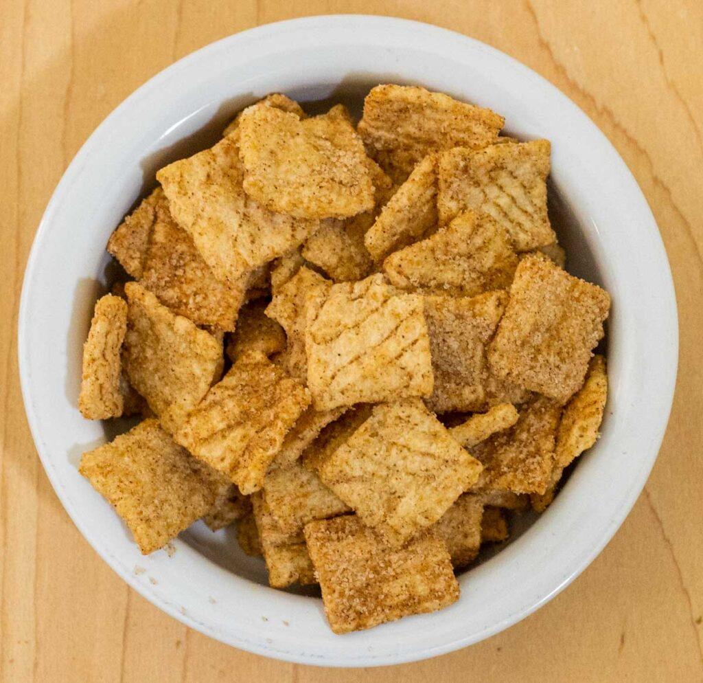Cinnamon Toast Crunch in Bowl
