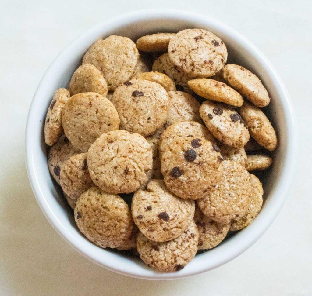 Cookie Crisp Cereal - Birdseye view