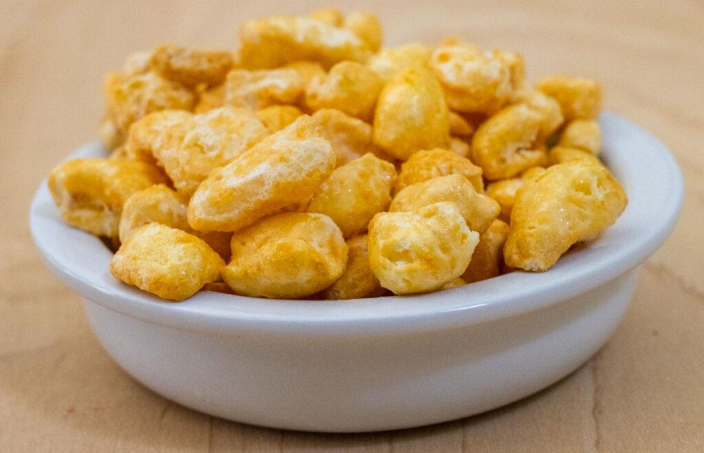 Corn Pops in Bowl