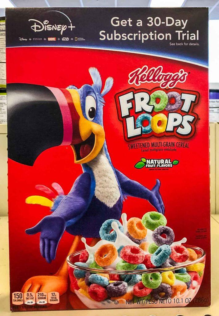 Froot Loops Box