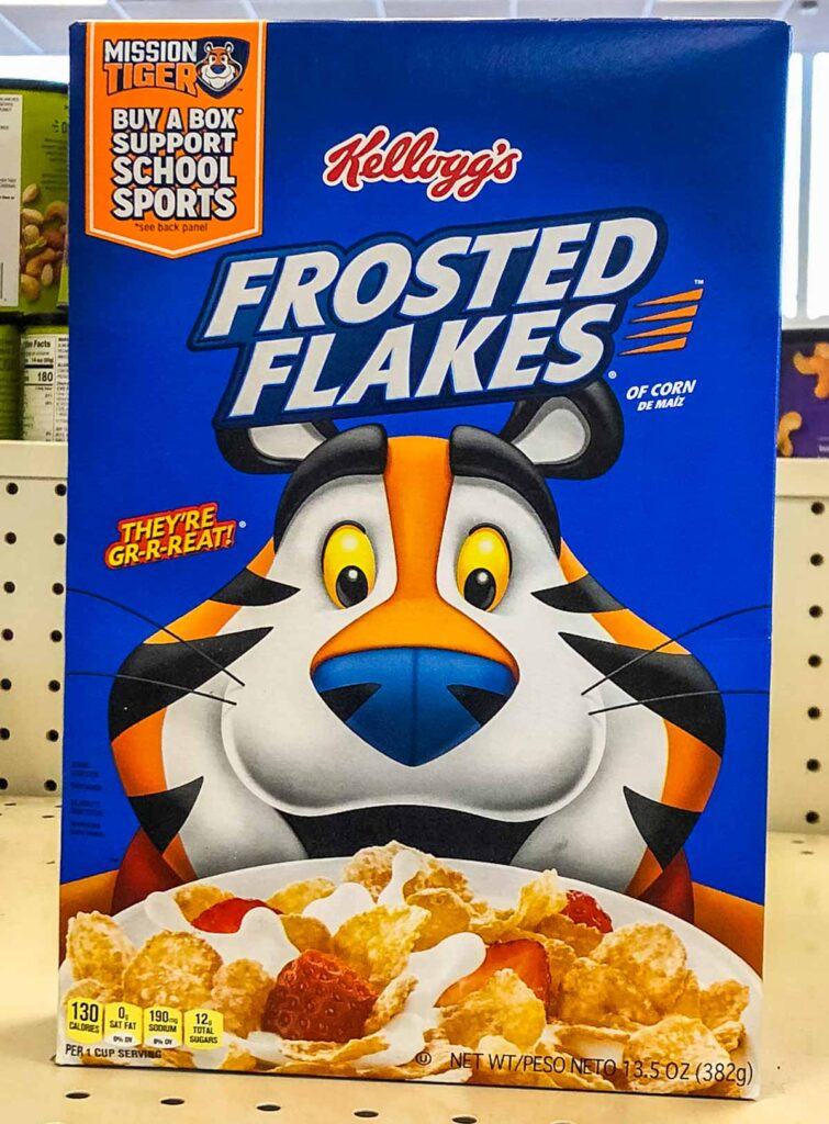 Frosted Flakes Box