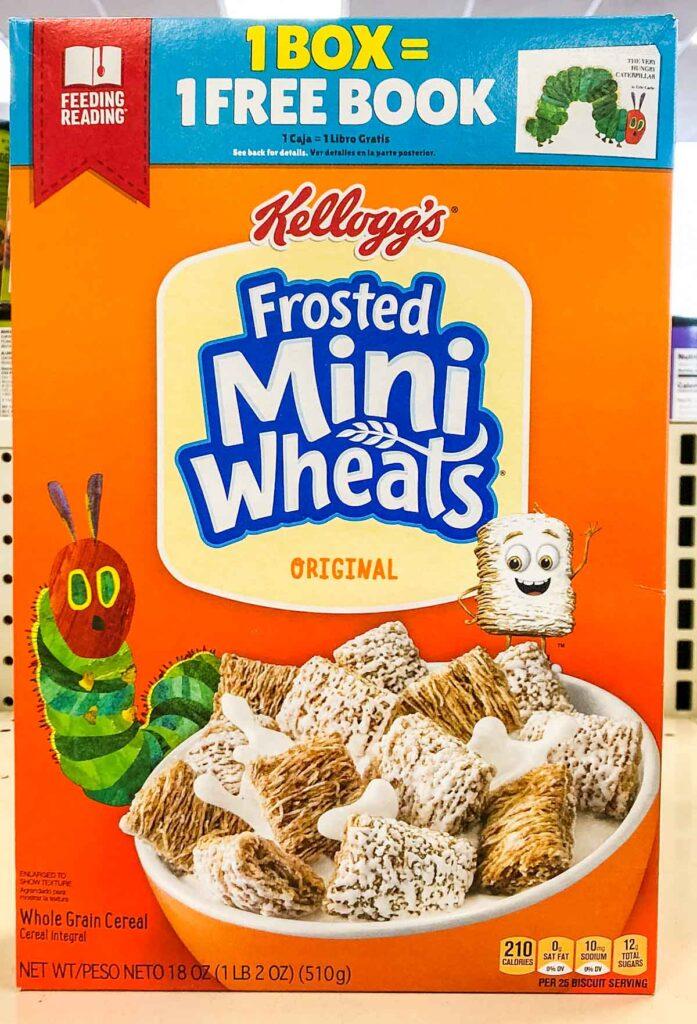 Frosted Mini Wheats Box