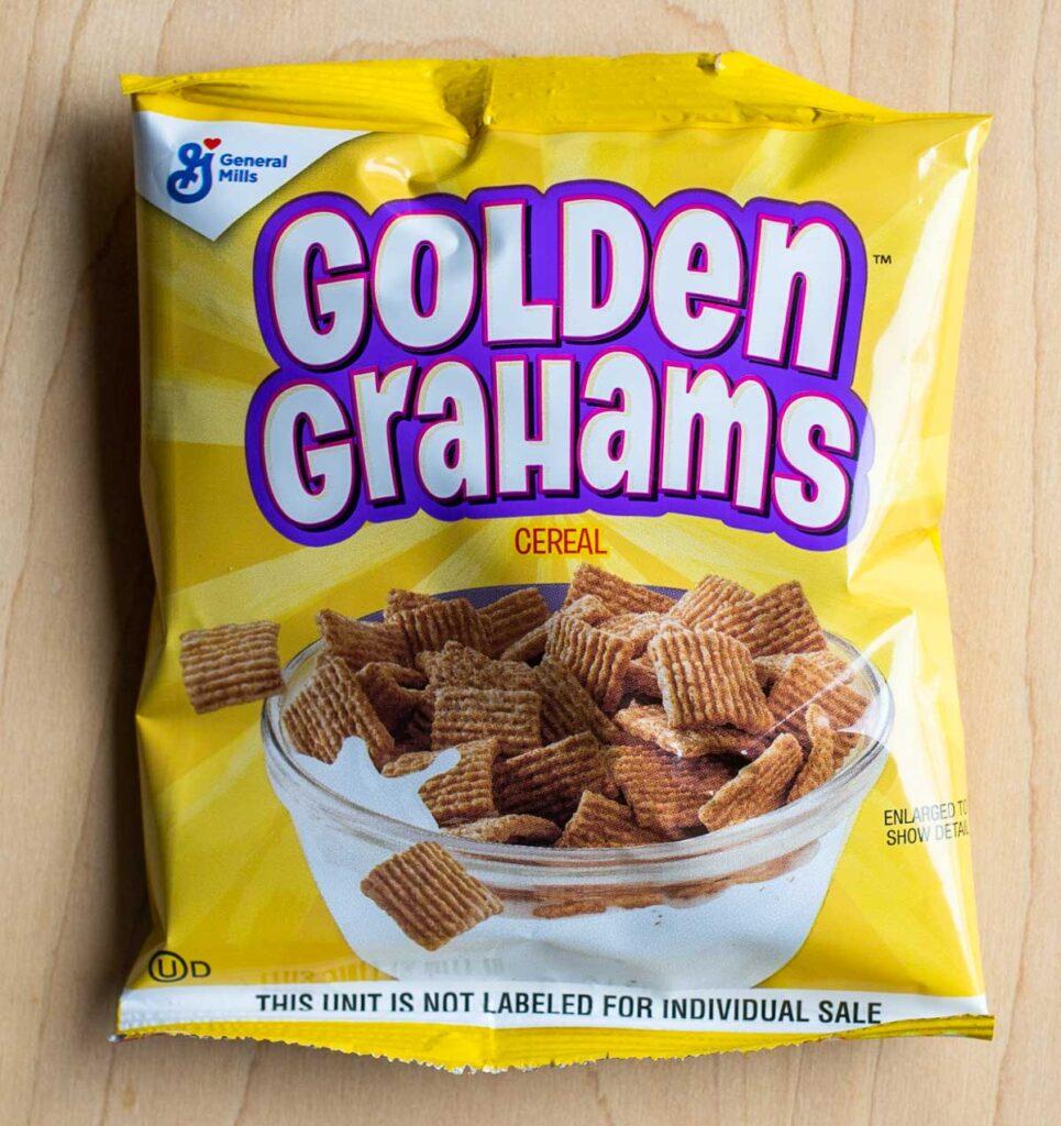 Golden Grahams Cereal Bag