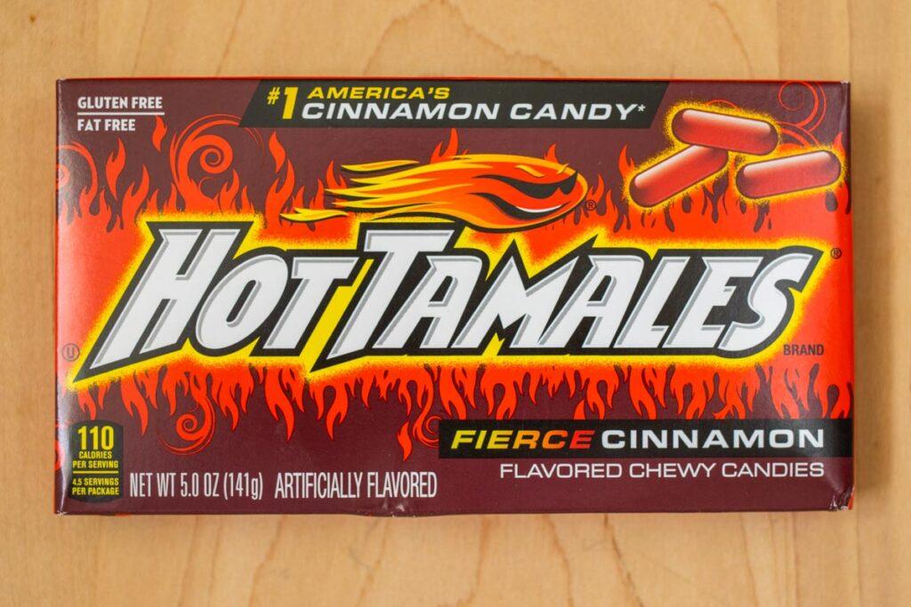 Hot Tamales Box