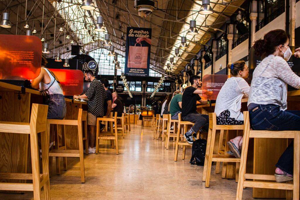 Inside Time Out Market Lisbon 2021