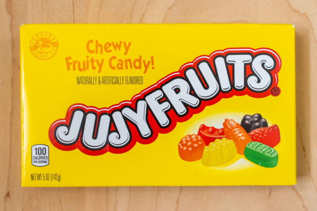 Jujyfruits Box