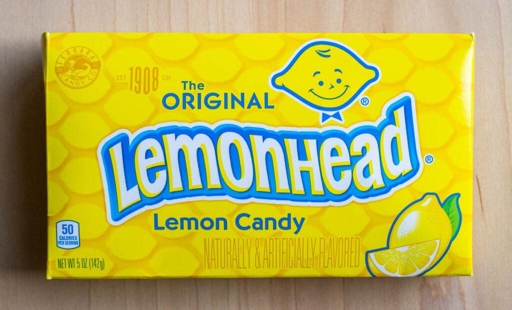 Lemonhead Box