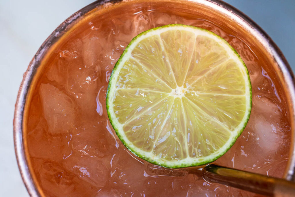 Moscow Mule from Above