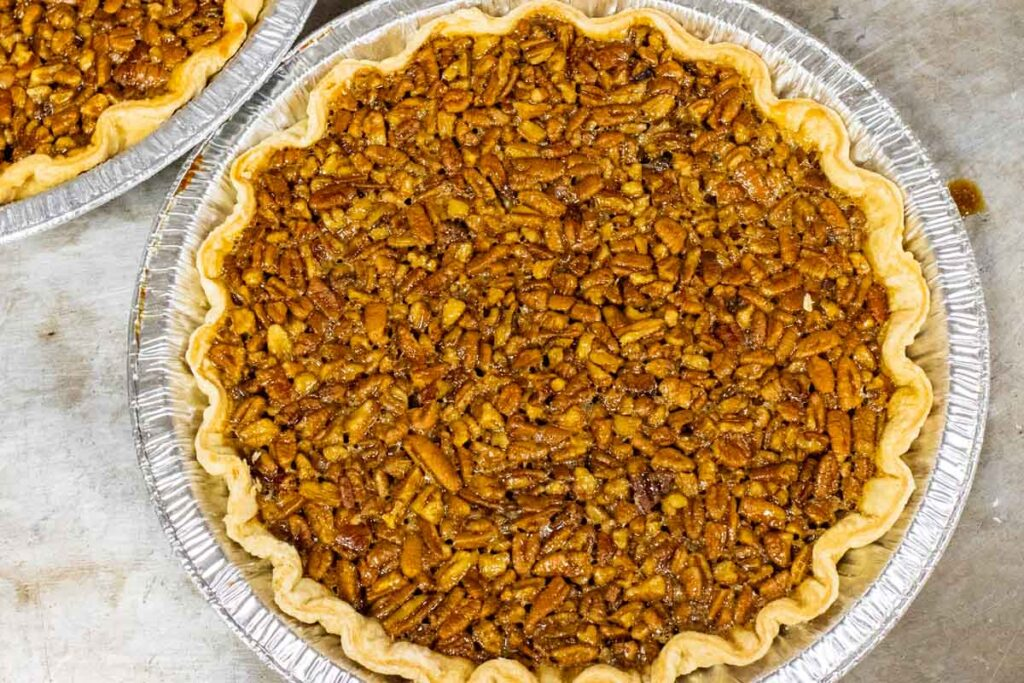 Pecan Pie at Commander's Palace