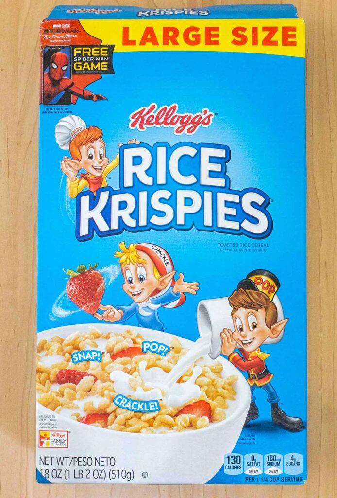 Rice Krispies Box