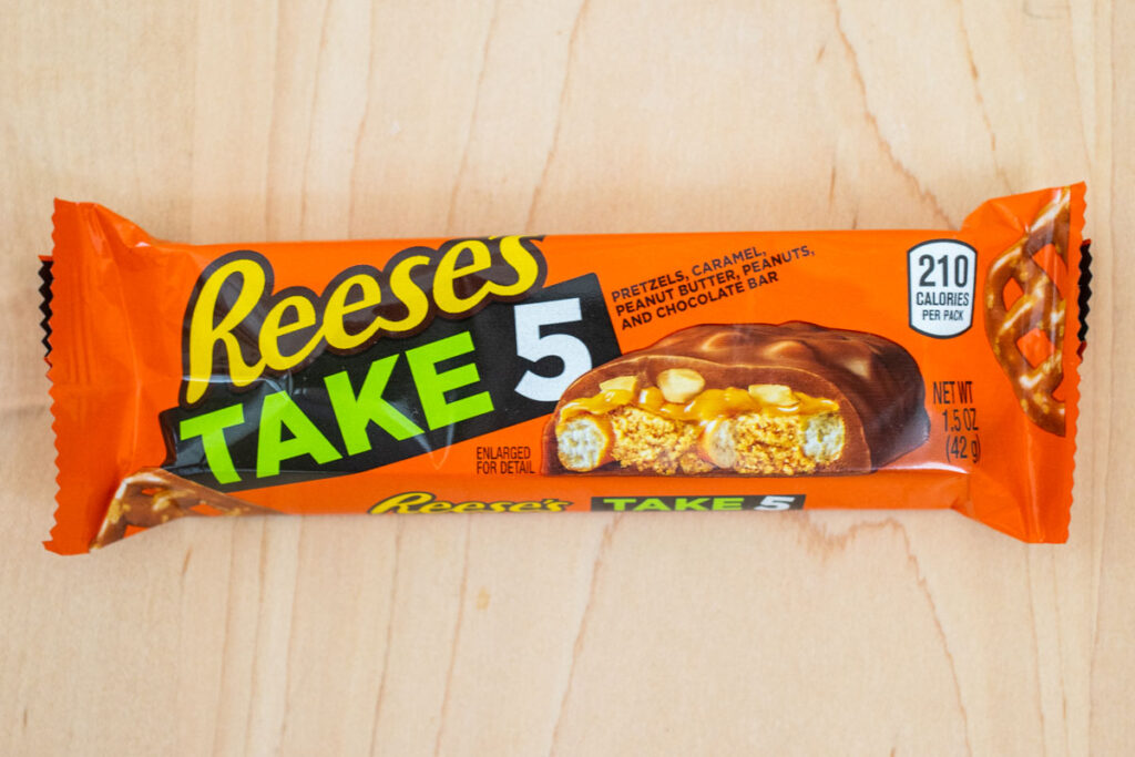 Take 5 Candy Bar in Wrapper