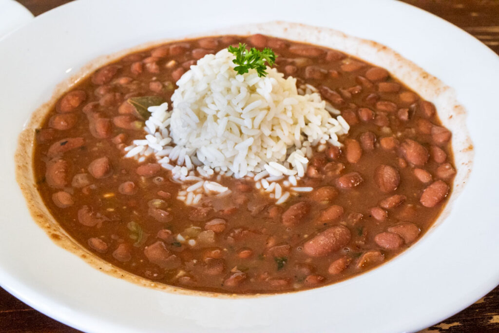 Willie Mae's Scotch House Red Beans and Rice