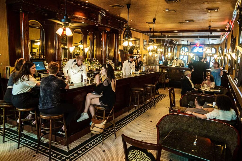 Arnauds French 75 Bar in New Orleans