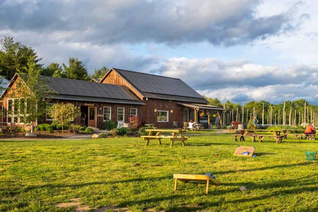 Arrowood Farms in the Catskills