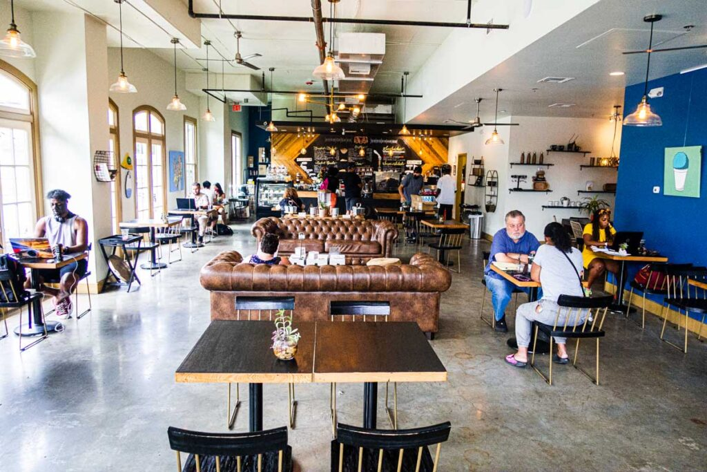 Backatown Coffee Parlour in New Orleans