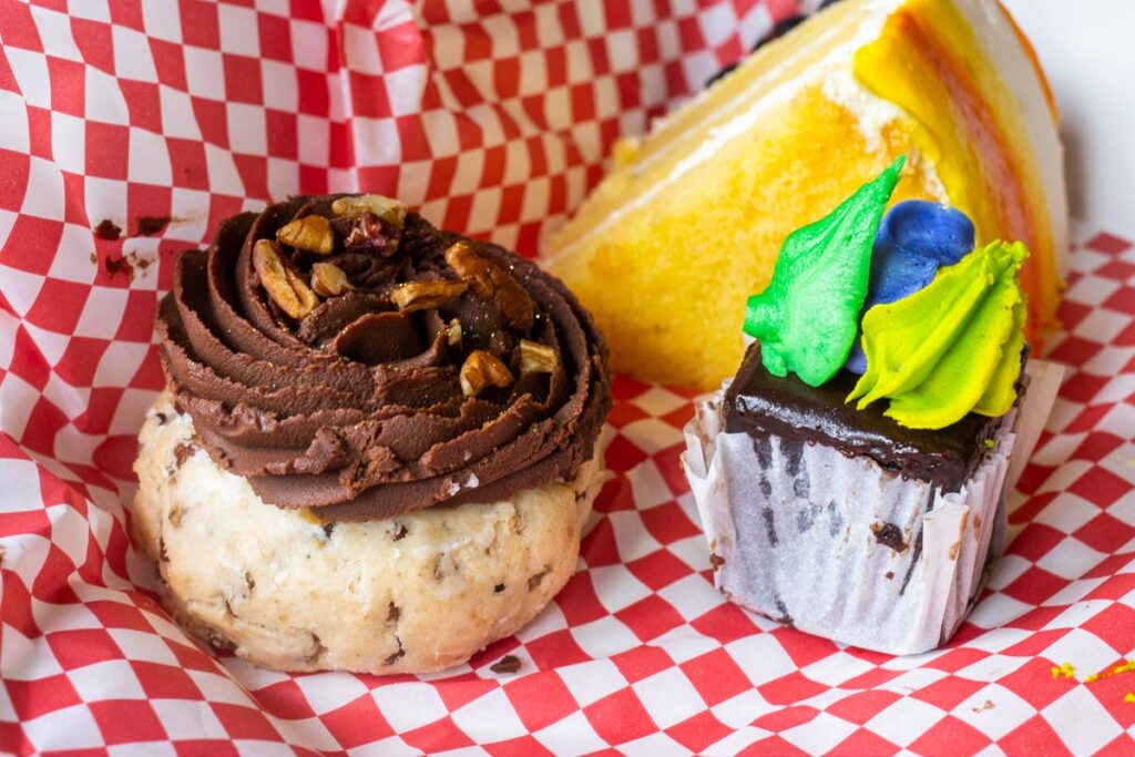 Bywater Bakery Desserts in Box