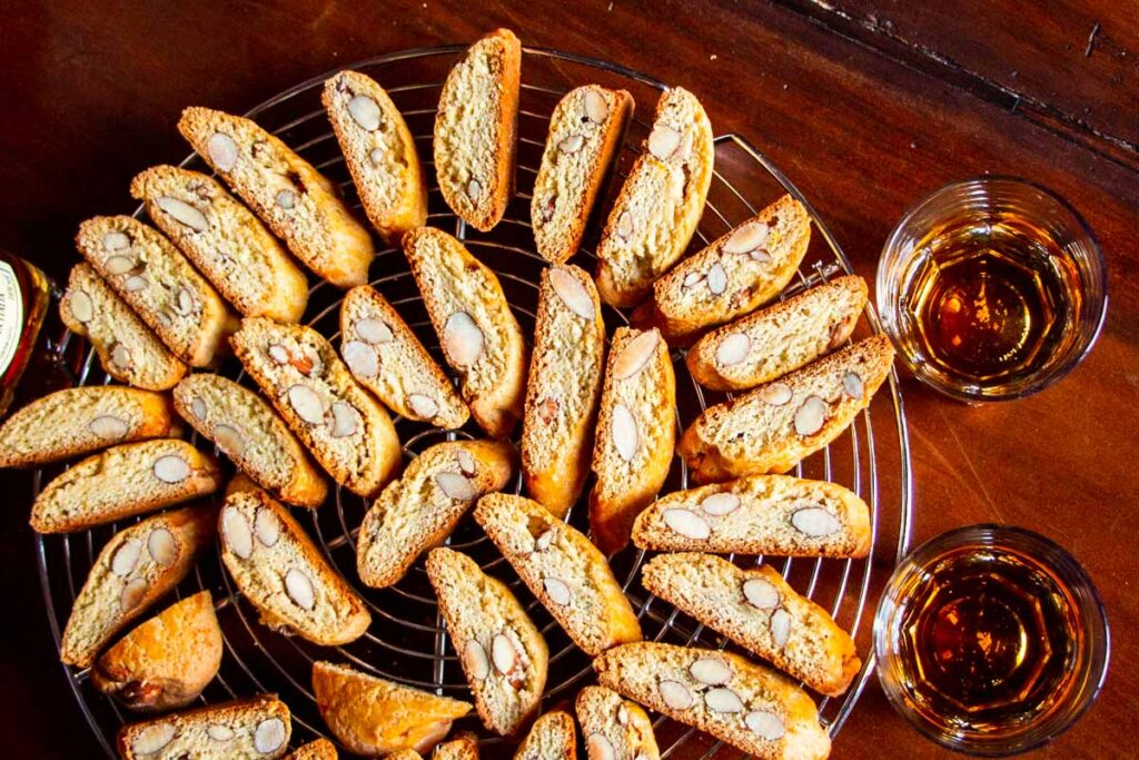 Cantuccini with Vin Santo