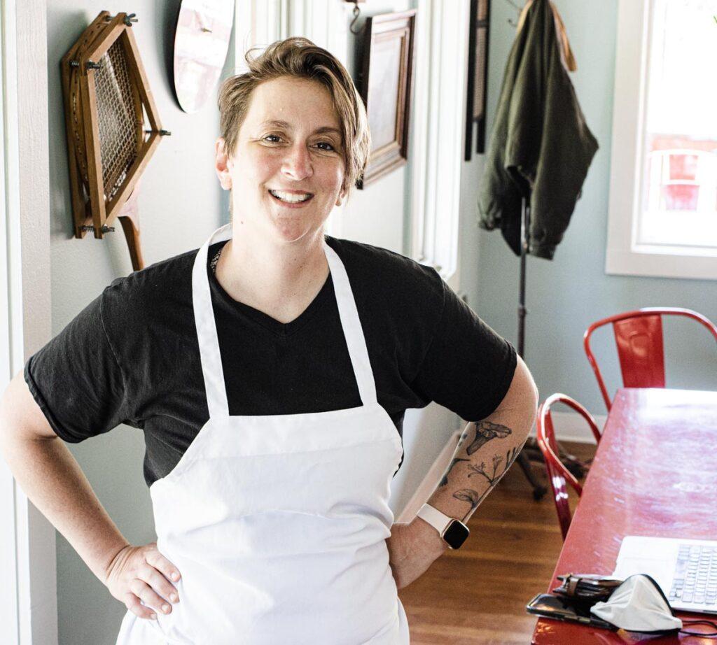 Chef at Love Bird in the Catskills
