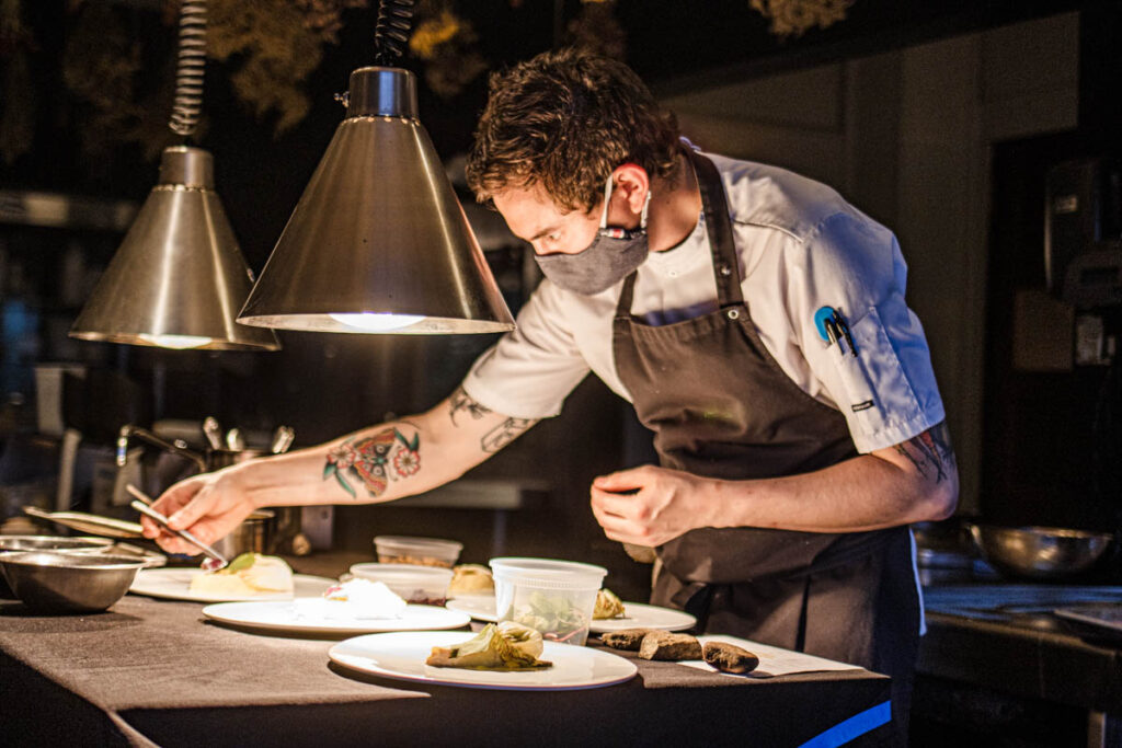 Chef at The DeBruce in the Catskills
