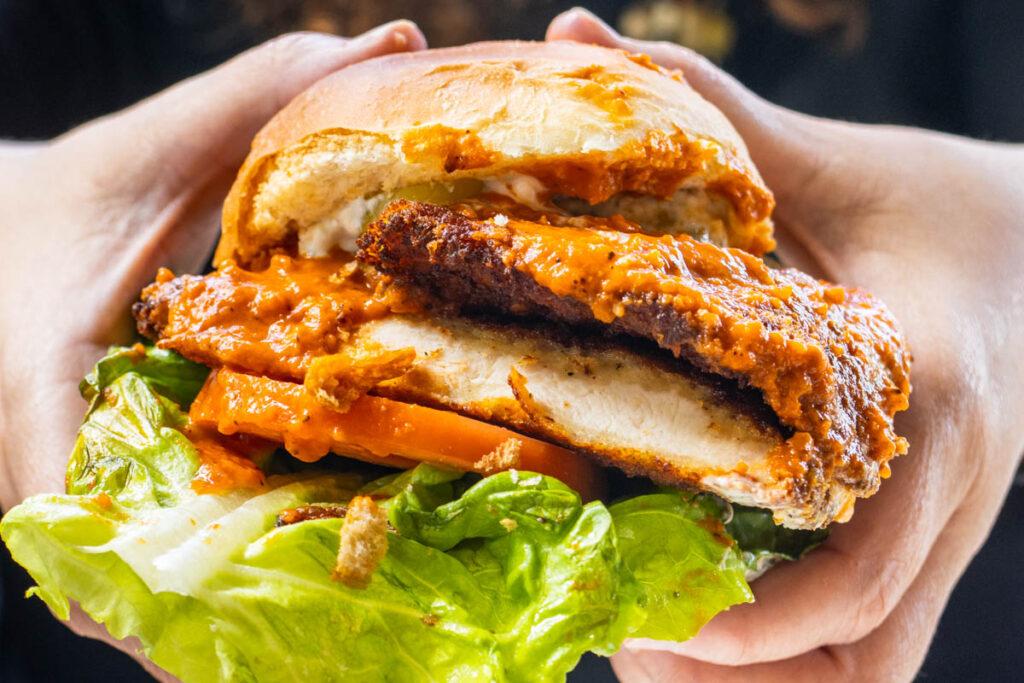 Chicken Sandwich at Phoenicia Diner in the Catskills