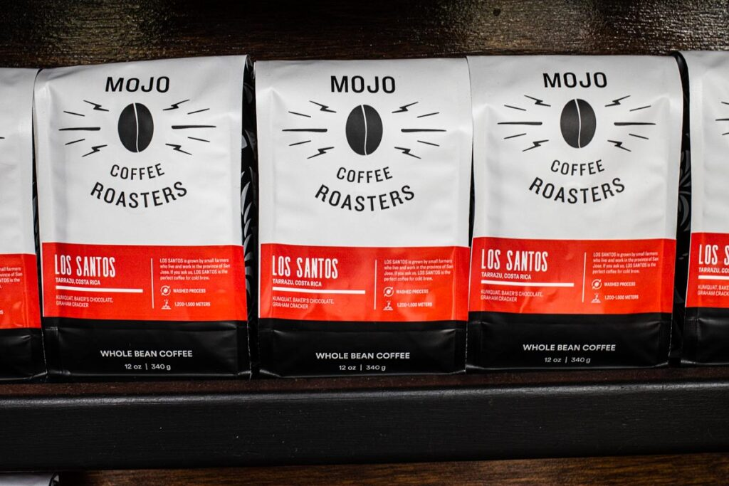 Coffee Beans at Mojo Coffee House in New Orleans