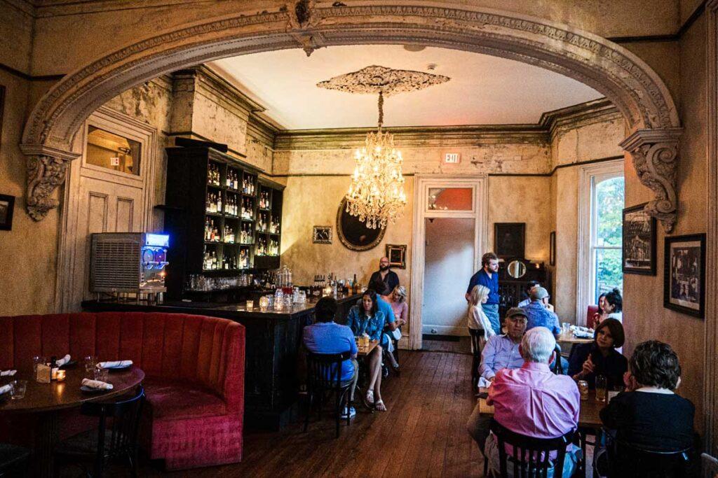 Dining Room at Cavan in New Orleans