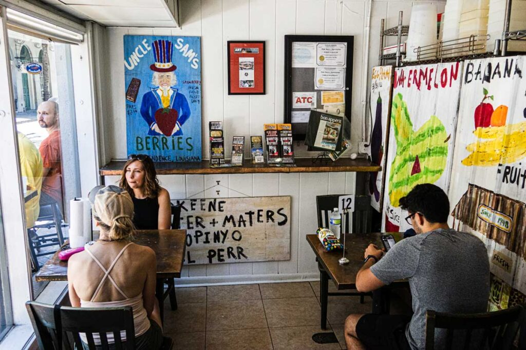 Dining Room at Killer PoBoys in New Orleans