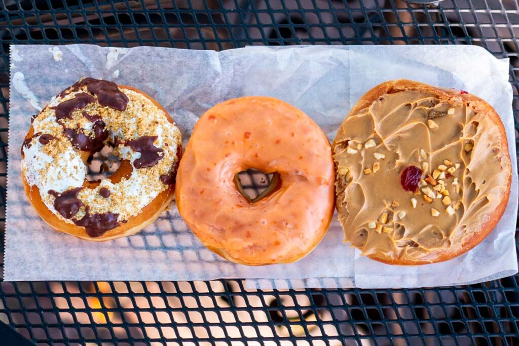 Donuts at Blue Dot in New Orleans